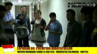 Inspeksi Mendadak DPR – Ujian Bahasa Calon TKI Korea 16 Juni 2013